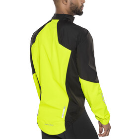 PEARL iZUMi Pro Pursuit WxB Softshell Jacket Men Black/Screaming Yellow